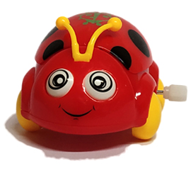 Car Beetle Funny Toys - Red