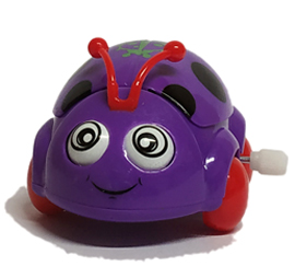 Car Beetle Funny Toys - Purple