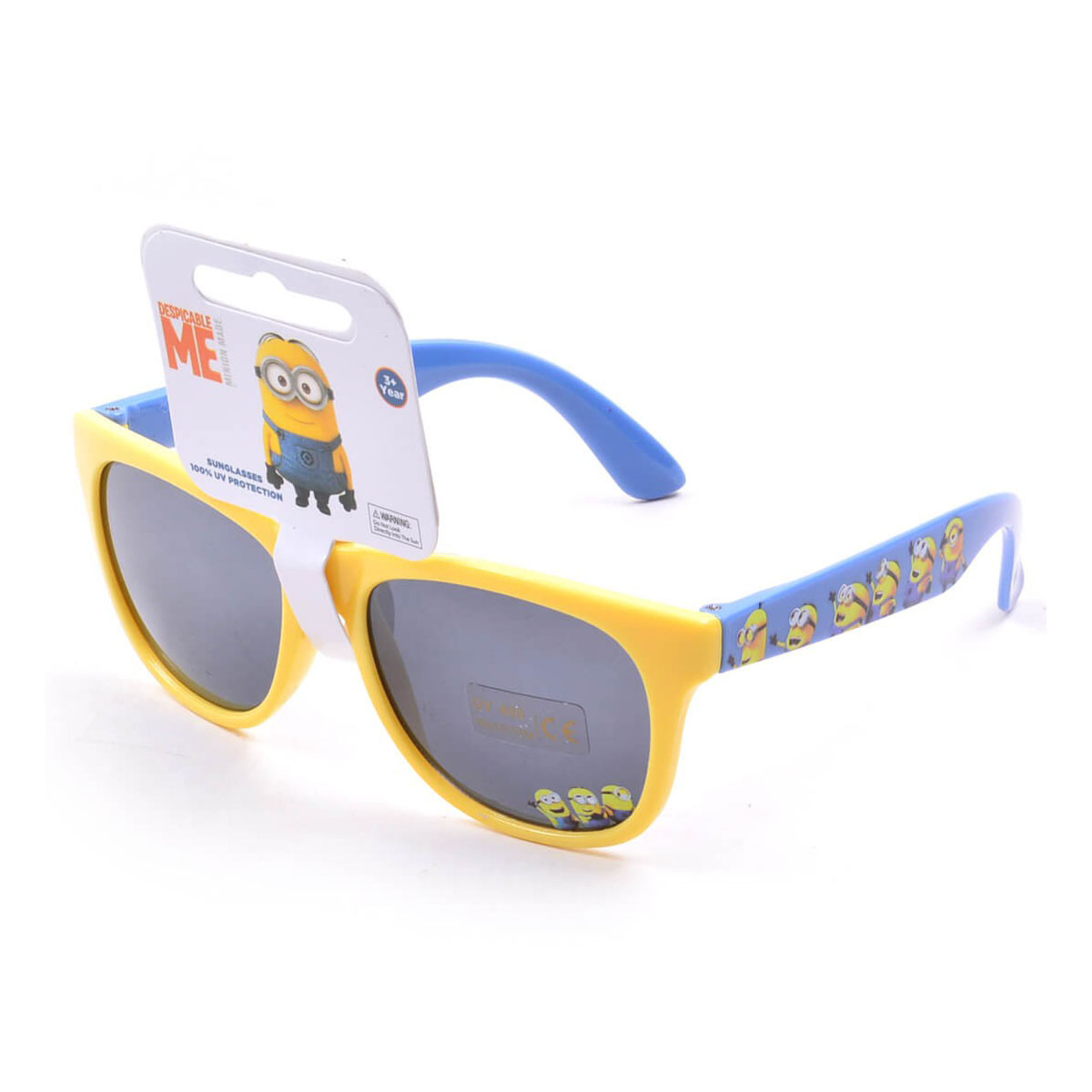 My Baby Excels Minion Wayfarer Sunglasses Yellow Frame