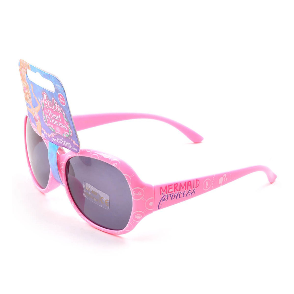 My Baby Excels Barbie Mermaid Princess Wrap Sunglasses - Pink