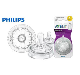 Phillips Avent Natural Teat 0M+