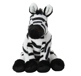 Wild Republic Baby Zebra Stuffed Animal - 12