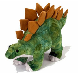 Stegosaurus Soft Toy for Kids- Green
