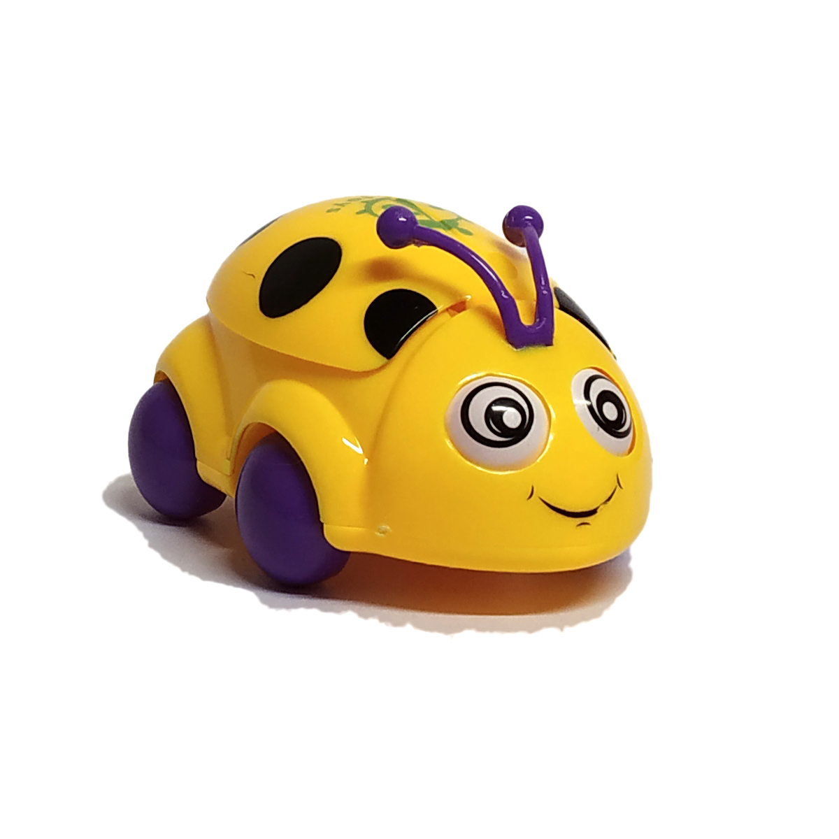 Car Beetle Funny Toys - Yellow